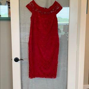 Red Tadashi dress